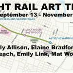 LIGHT RAIL ART TRAIL