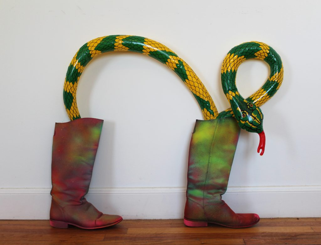 Snake Boots